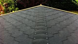 Изграждане на покриви с битумни керемиди