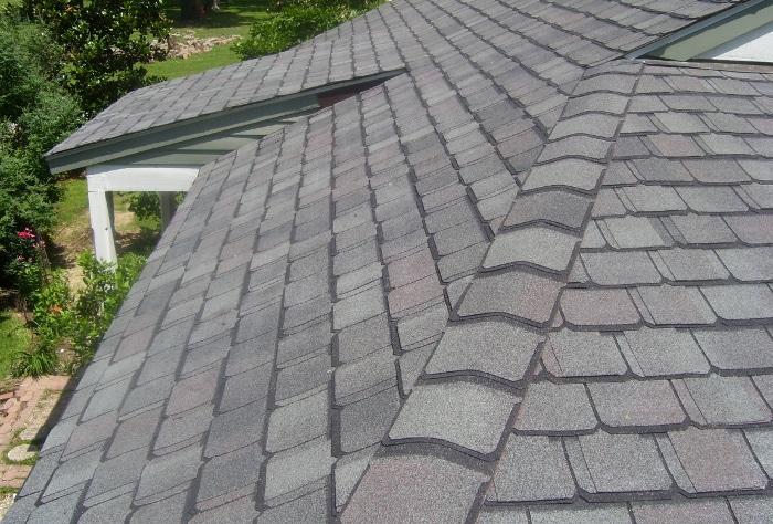 изграждане на покриви от битумни керемиди